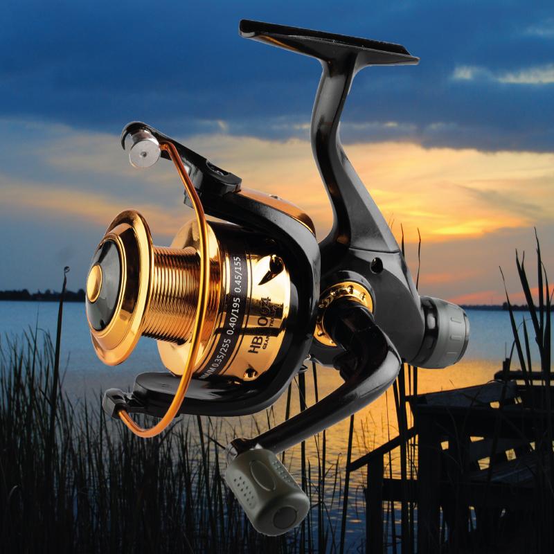 HB5004 hátsófékes horgász orsó