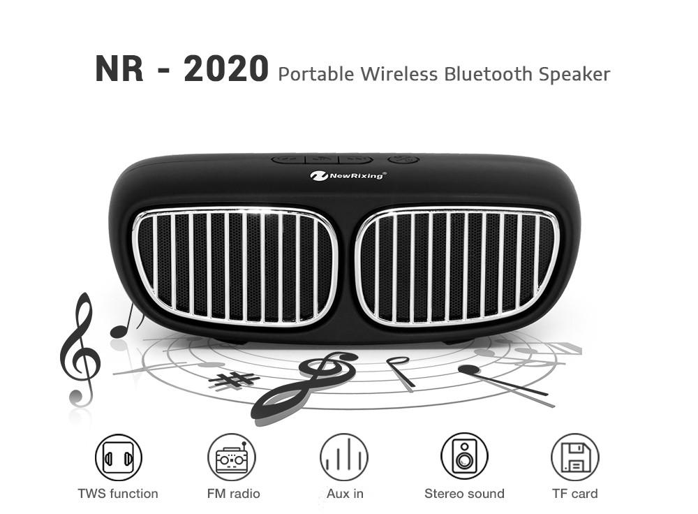 Autóhűtőrács alakú Bluetooth hangszóró NR-CY2020-BT