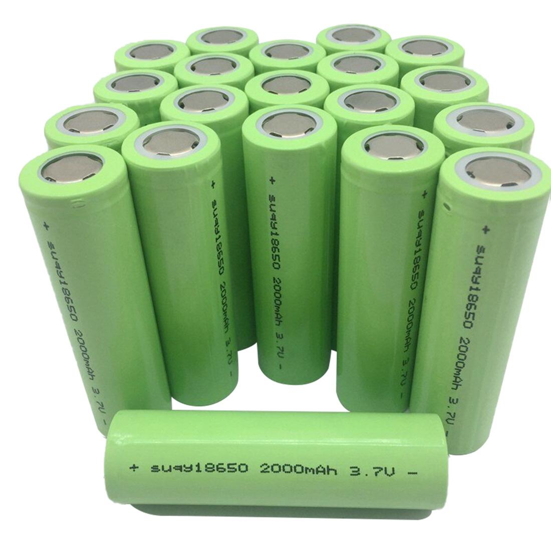 2000mAh 18650 Li-ion akkumulátor