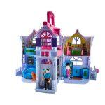 Nagy játékház 6 szobával, babával, kutyával és kiegészítőkkel
