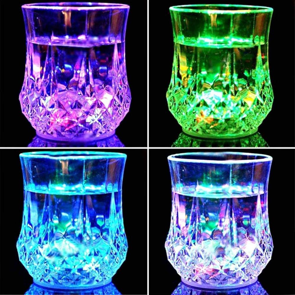 Party pohár LED világítással
