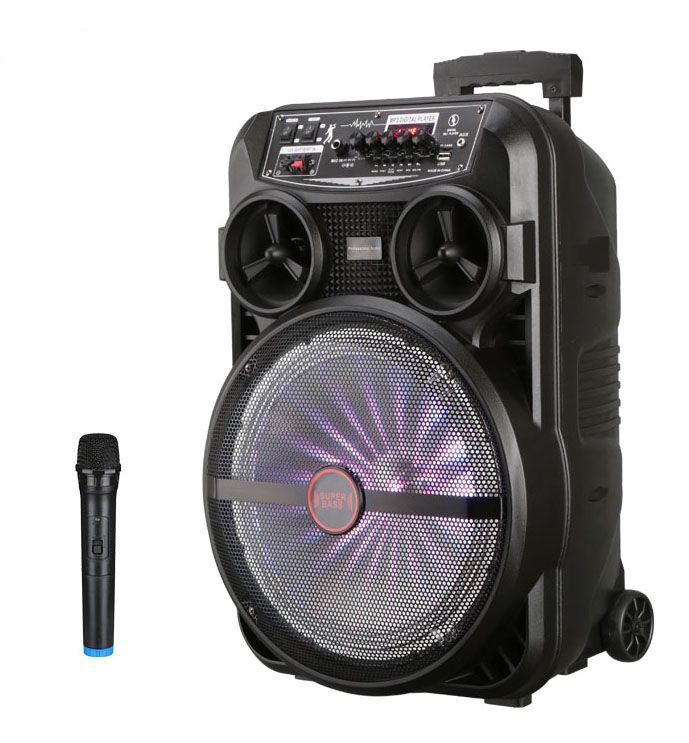 LT-5312BT - Bluetooth hangszóró/hangfal mikrofonnal, távirányítóval