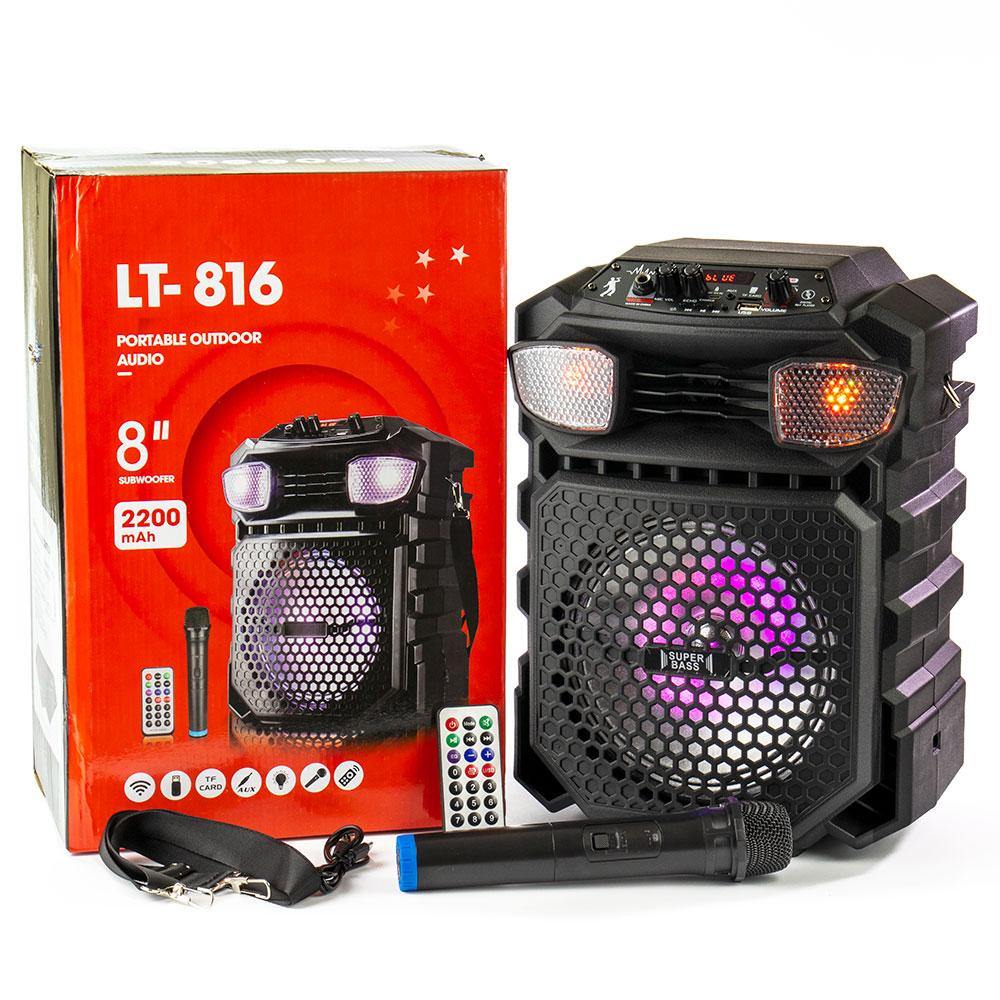 LT-816 bluetooth hangfal távirányítóval + mikrofonnal