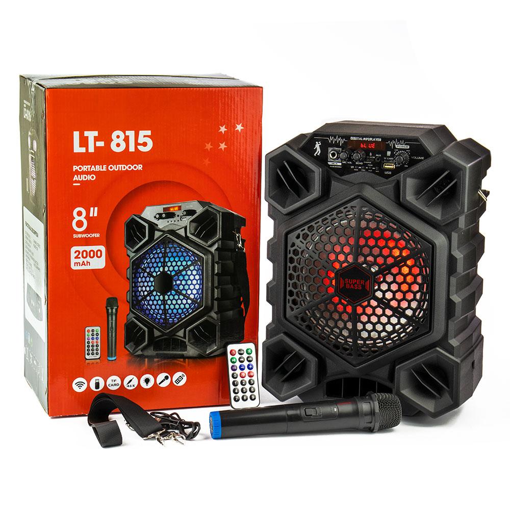 LT-815 bluetooth hangfal távirányítóval + mikrofonnal
