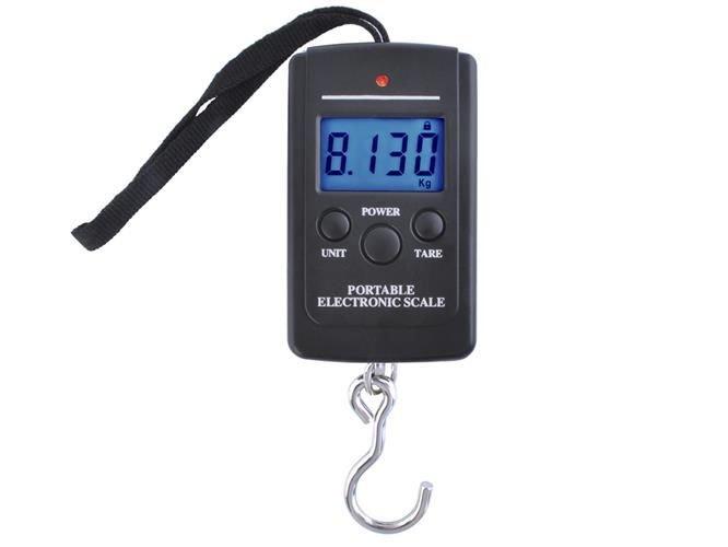 Hal, poggyász mérleg • LED • 40 kg-ig