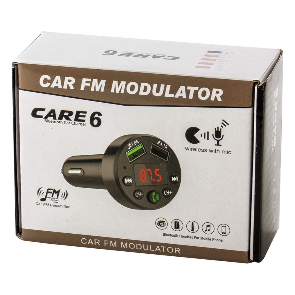 CAR E6 Bluetooth FM transmitter