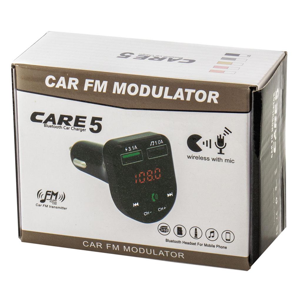 CAR E5 Bluetooth FM transmitter