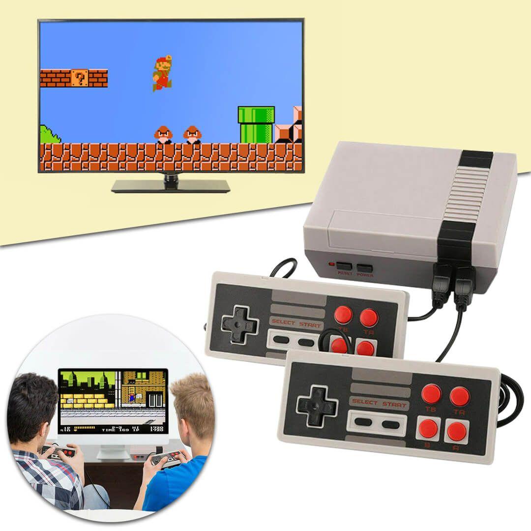 TV-hez csatlakoztatható retro játék konzol, 620 játékkal (HP1000952-1)