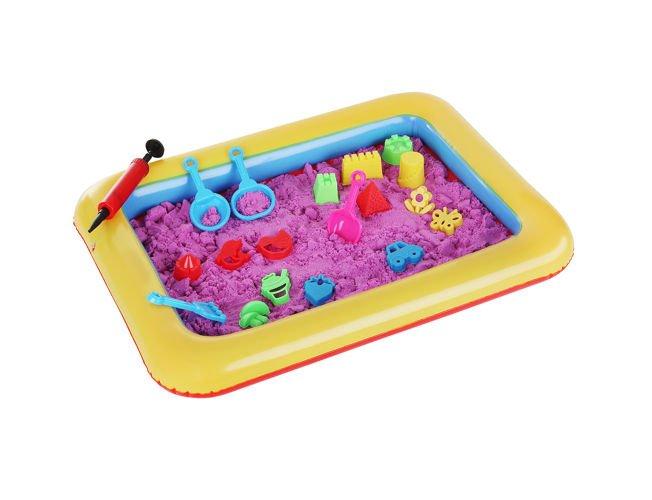 Kreatív készlet gyermekeknek, kinetikus homokozóformákkal (BB9095)