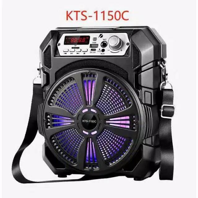 KTS-1150C Bluetooth LED-es mini party hangfal - akkus
