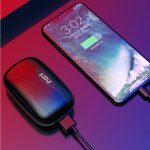 W16 vezeték nélküli Bluetooth fülhallgató akkus töltődobozzal (1)