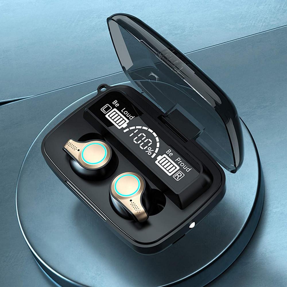 M18 vezeték nélküli Bluetooth fülhallgató akkus töltődobozzal