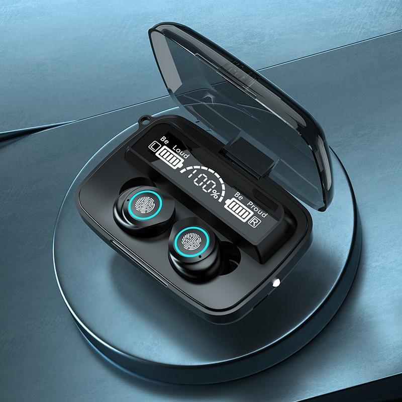 M17 vezeték nélküli Bluetooth fülhallgató akkus töltődobozzal