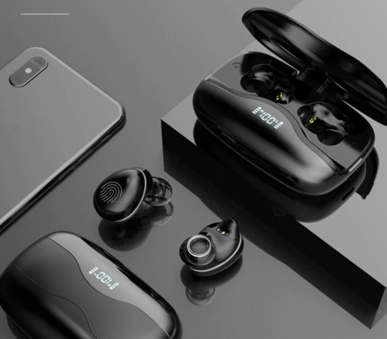 W16 vezeték nélküli Bluetooth fülhallgató akkus töltődobozzal