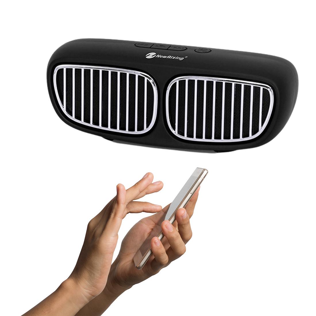 Autóhűtőrács alakú akkus Bluetooth hangszóró BB-NSB-11