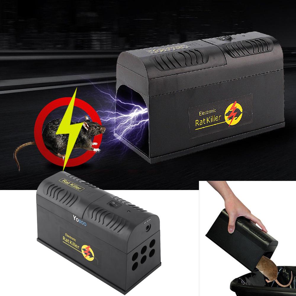 PRO-X Elektromos  egér/patkánycsapda - Továbbfejlesztett változat
